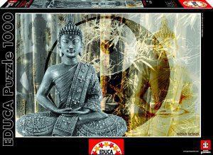 Los mejores puzzles de Buda - Puzzle de Buda de 1000 piezas de Educa