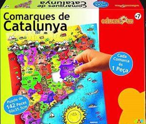 Los mejores puzzles de Cataluña - Puzzle de las comarcas de Cataluña de 142 piezas de Jac - Puzzles de Comarques de Catalunya