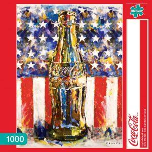 Los mejores puzzles de Coca Cola - Coke - Puzzle de Botella de Coca Cola de 1000 piezas de Buffalo Games