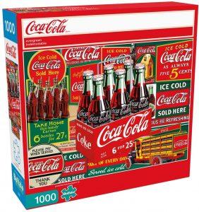 Los mejores puzzles de Coca Cola - Coke - Puzzle de Botellas de Coca Cola de 1000 piezas de Buffalo Games