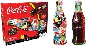 Los mejores puzzles de Coca Cola - Coke - Puzzle de Botellas de Coca Cola de 600 piezas de Aquarius