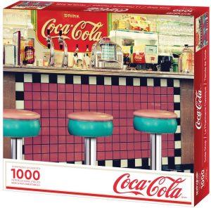 Los mejores puzzles de Coca Cola - Coke - Puzzle de Coca Cola Bar de 1000 piezas de Springbok