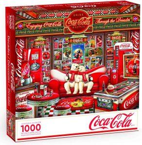 Los mejores puzzles de Coca Cola - Coke - Puzzle de Evolución de Coca Cola de 1000 piezas de Springbok