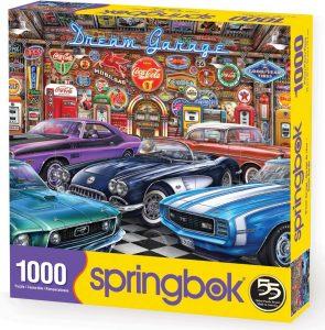 Los mejores puzzles de Coca Cola - Coke - Puzzle de Garaje de Coca Cola de 1000 piezas de Springbok