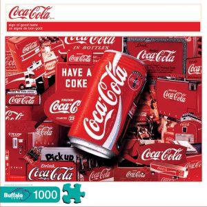 Los mejores puzzles de Coca Cola - Coke - Puzzle de Logos de Coca Cola de 1000 piezas de Buffalo Games