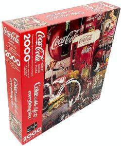Los mejores puzzles de Coca Cola - Coke - Puzzle de Materiales de Coca Cola de 2000 piezas de Springbok