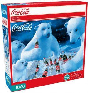 Los mejores puzzles de Coca Cola - Coke - Puzzle de Osos Polares de Coca Cola de 1000 piezas de Buffalo Games