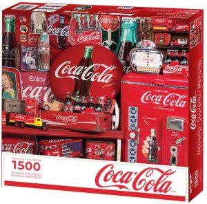 Los mejores puzzles de Coca Cola - Coke - Puzzle de Recuerdos de Coca Cola de 1500 piezas de Springbok