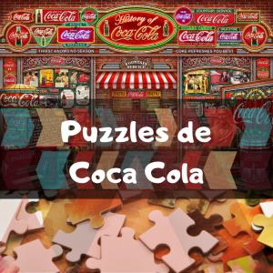 Los mejores puzzles de Coca Cola - Puzzles de Coca Cola - Puzzle de Coke - Coca Cola