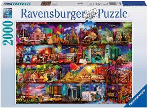 Los mejores puzzles de Colin Thompson - Puzzle de Colin Thompson dEl Mundo de los Libros de 2000 piezas de Ravensburger