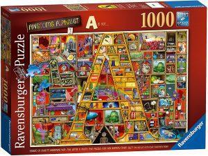 Los mejores puzzles de Colin Thompson - Puzzle de Colin Thompson de A de 1000 piezas de Ravensburger