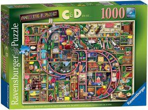 Los mejores puzzles de Colin Thompson - Puzzle de Colin Thompson de C y D de 1000 piezas de Ravensburger