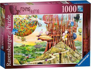 Los mejores puzzles de Colin Thompson - Puzzle de Colin Thompson de Flying House de 1000 piezas de Ravensburger