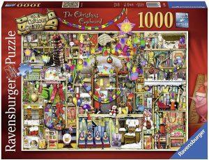 Los mejores puzzles de Colin Thompson - Puzzle de Colin Thompson de The Christmas Cupboard de 1000 piezas de Ravensburger
