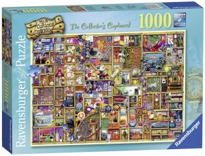 Los mejores puzzles de Colin Thompson - Puzzle de Colin Thompson de The Collector Cupboard de 1000 piezas de Ravensburger