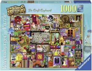 Los mejores puzzles de Colin Thompson - Puzzle de Colin Thompson de The Craft Cupboard de 1000 piezas de Ravensburger