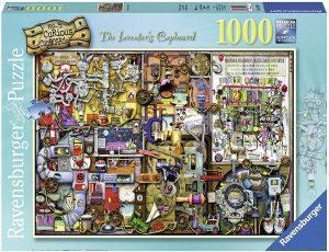 Los mejores puzzles de Colin Thompson - Puzzle de Colin Thompson de The Inventor Cupboard de 1000 piezas de Ravensburger