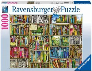 Los mejores puzzles de Colin Thompson - Puzzle de Colin Thompson de la biblioteca de 1000 piezas de Ravensburger