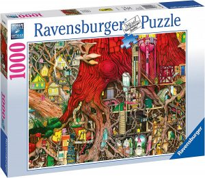 Los mejores puzzles de Colin Thompson - Puzzle de Colin Thompson de raíces de 1000 piezas de Ravensburger