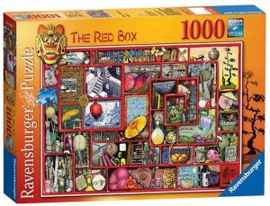 Los mejores puzzles de Colin Thompson - Puzzle de Colin Thompson de the red box de 1000 piezas de Ravensburger