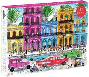 Los mejores puzzles de Cuba - Puzzle de Cuba de 1000 piezas de Michael Storrings - Puzzles de países