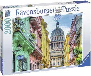 Los mejores puzzles de Cuba - Puzzle de colores de Cuba de 2000 piezas de Ravensburger - Puzzles de países