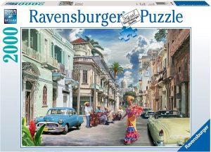 Los mejores puzzles de Cuba - Puzzle de las calles de Cuba de 2000 piezas de Ravensburger - Puzzles de países