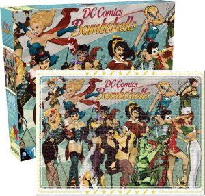 Los mejores puzzles de DC - Puzzle de DC Comics de Bombshells de 1000 piezas de Aquarius - Puzzles de personajes de DC