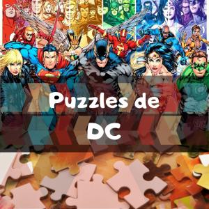 Los mejores puzzles de DC - Puzzles de DC - Puzzle de personajes de DC