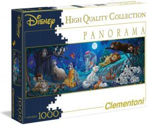 Los mejores puzzles de Disney - Puzzle de animales de Disney de 1000 piezas de Clementoni - Personajes de Disney