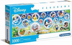 Los mejores puzzles de Disney - Puzzle de burbujas de personajes de concierto de Disney de 1000 piezas de Clementoni - Personajes de Disney