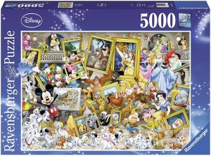Los mejores puzzles de Disney - Puzzle de cuadros de Disney de 5000 piezas de Ravensburger - Personajes de Disney