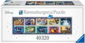 Los mejores puzzles de Disney - Puzzle de momentos de Disney de 40320 piezas de Ravensburger - Personajes de Disney