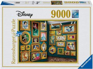 Los mejores puzzles de Disney - Puzzle de museo de Disney de 9000 piezas de Ravensburger - Personajes de Disney