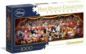 Los mejores puzzles de Disney - Puzzle de panorama de personajes de concierto de Disney de 1000 piezas de Ravensburger - Personajes de Disney
