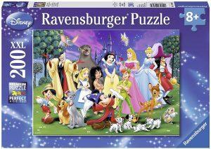 Los mejores puzzles de Disney - Puzzle de personajes de Disney de 200 piezas de Ravensburger - Personajes de Disney