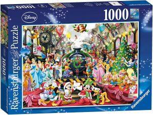 Los mejores puzzles de Disney - Puzzle de tren de Disney de 1000 piezas de Ravensburger - Personajes de Disney