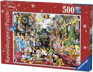 Los mejores puzzles de Disney - Puzzle de tren de Disney de 500 piezas de Ravensburger - Personajes de Disney