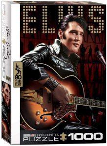 Los mejores puzzles de Elvis Presley - Puzzle de Elvis Presley cantando de 1000 piezas de Eurographics