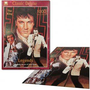 Los mejores puzzles de Elvis Presley - Puzzle de Elvis Presley de Legends de 1000 piezas de NMR