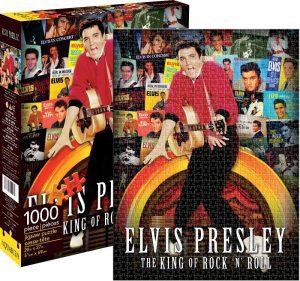 Los mejores puzzles de Elvis Presley - Puzzle de Elvis Presley del Rey del Rock de 1000 piezas de NMR