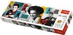 Los mejores puzzles de Elvis Presley - Puzzle de Panorama de Elvis Presley de 500 piezas de Trefl