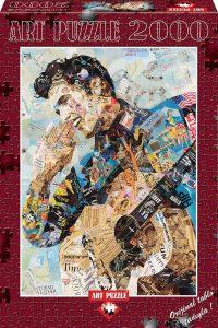 Los mejores puzzles de Elvis Presley - Puzzle de collage de Elvis Presley de 2000 piezas de Art Puzzle
