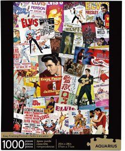 Los mejores puzzles de Elvis Presley - Puzzle de imágenes de Elvis Presley de 1000 piezas de Trefl