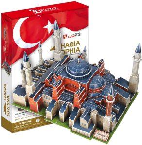 Los mejores puzzles de Estambul - Puzzle de Ayasofya Hagia Sophia 3D de CubicFun