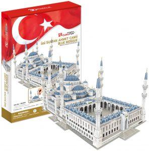 Los mejores puzzles de Estambul - Puzzle de Mezquita de Sultanahmet 3D de CubicFun