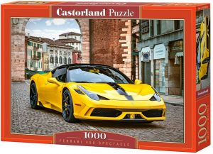 Los mejores puzzles de Ferrari - Puzzle de Ferrari 458 Spectacle de 1000 piezas de Castorland