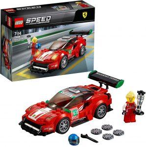 Los mejores puzzles de Ferrari - Puzzle de Ferrari 488 GT3 de 275 piezas de LEGO