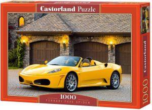 Los mejores puzzles de Ferrari - Puzzle de Ferrari F430 Spider de 1000 piezas de Castorland