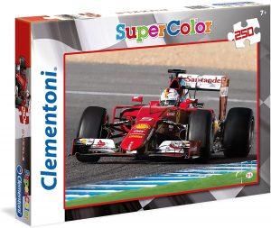 Los mejores puzzles de Ferrari - Puzzle de Ferrari de F1 de 250 piezas de Clementoni